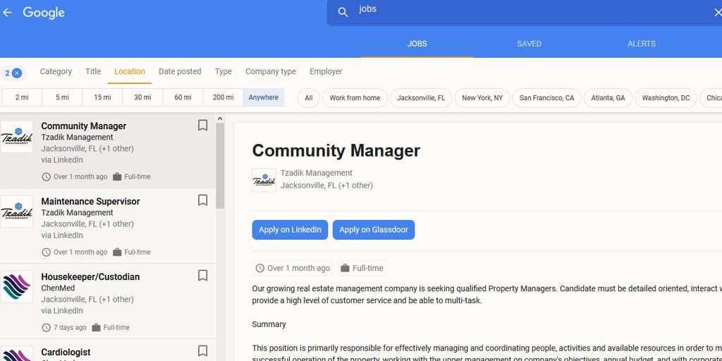 trabajos en miami google jobs