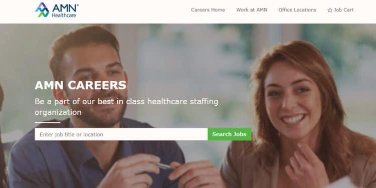 AMN Healthcare mejor agencia para trabajos cuidando ancianos