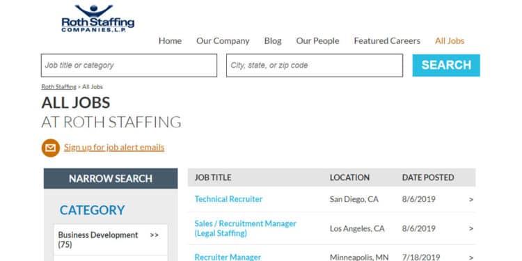 Mejor agencia para encontrar empleos en oficina y negocios business