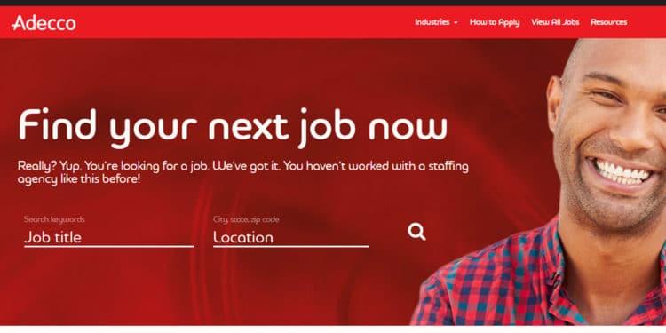 adecco Mejor agencia para encontrar empleos en Florida