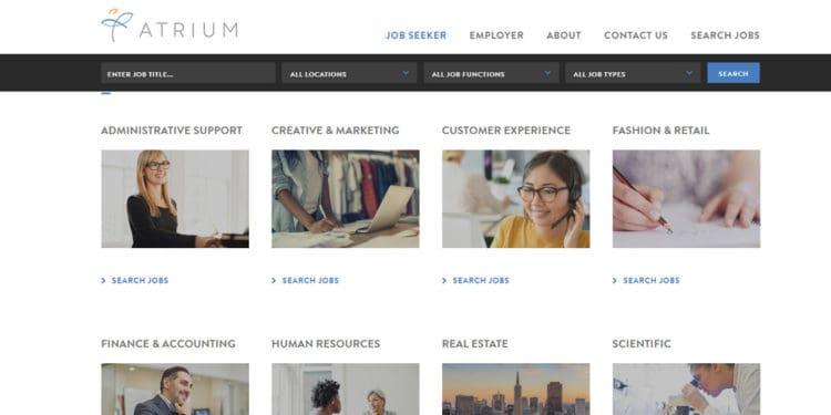 atrium mejor agencia de trabajos para mujeres