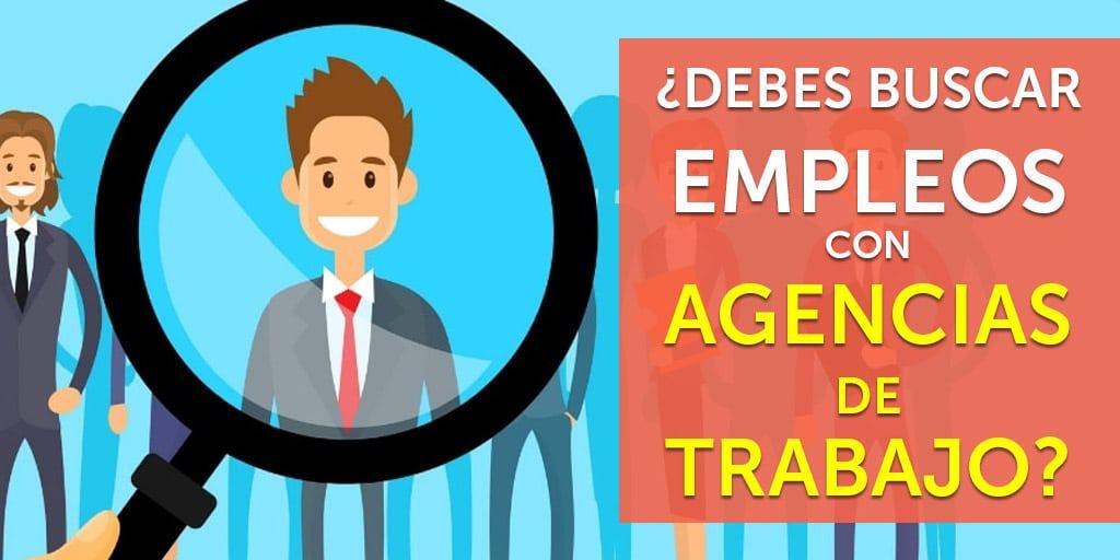 buscar empleo agencias de trabajo