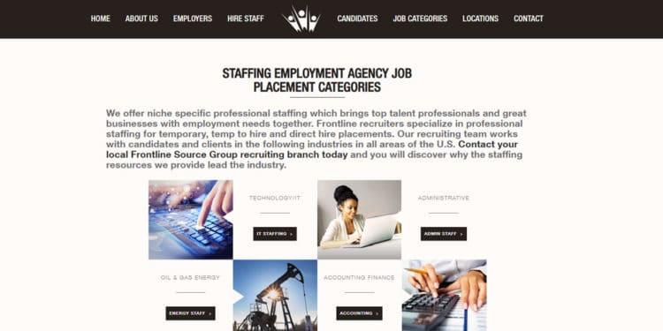 frontline source group Mejor agencia para encontrar trabajo temporal