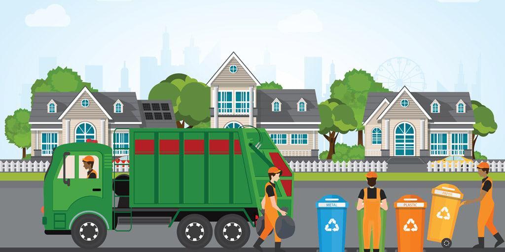 Recolector de basura trabajo sin experiencia usa