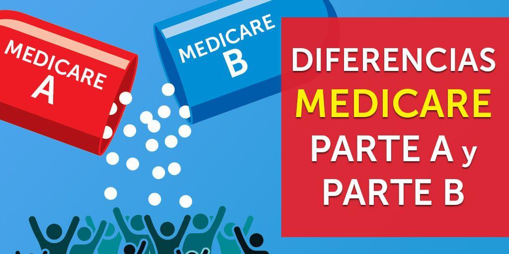 diferencias medicare a b