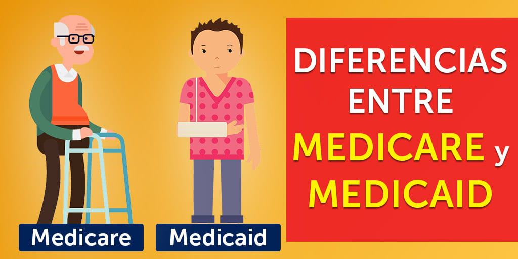 medicare medicaid diferencias es lo mismo