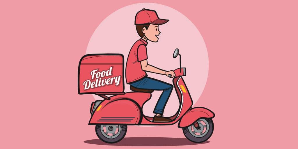 trabajos sin experiencia repartir comida