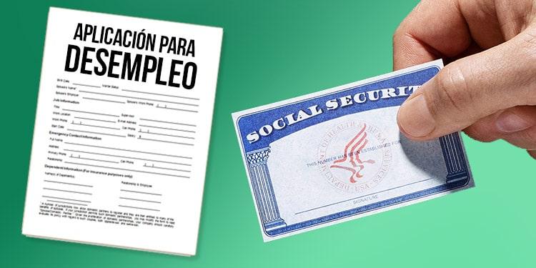 desempleo unemployment seguro social