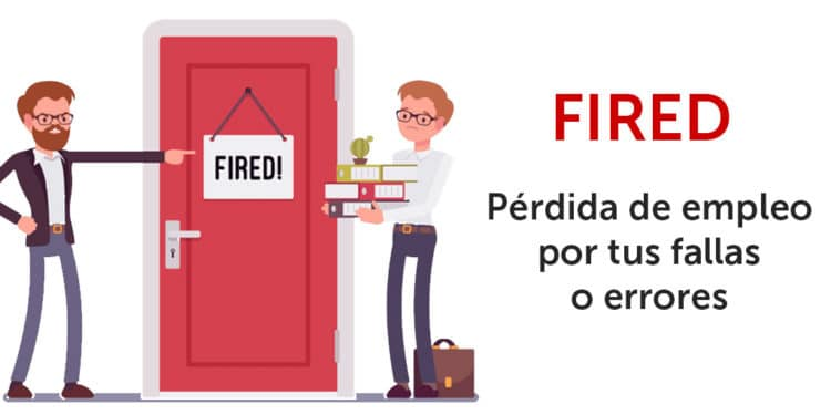 que quiere decir fired