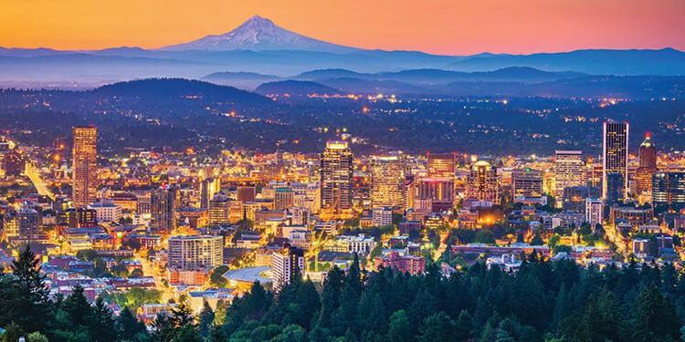Portland Oregon ciudades con trabajos tecnologicos