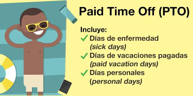 part time off vacaciones dias de enfermedad