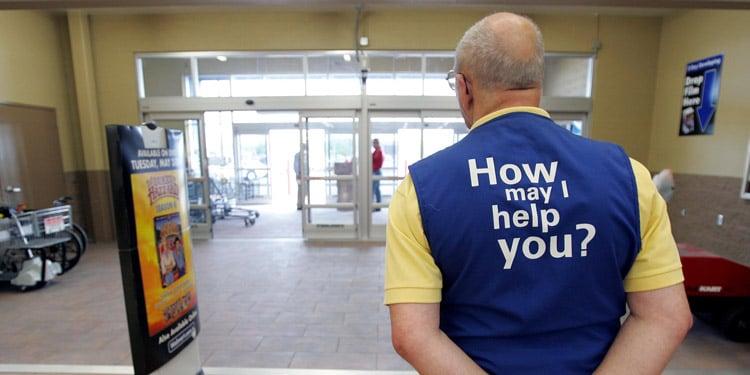 Walmart trabajos para personas mayores
