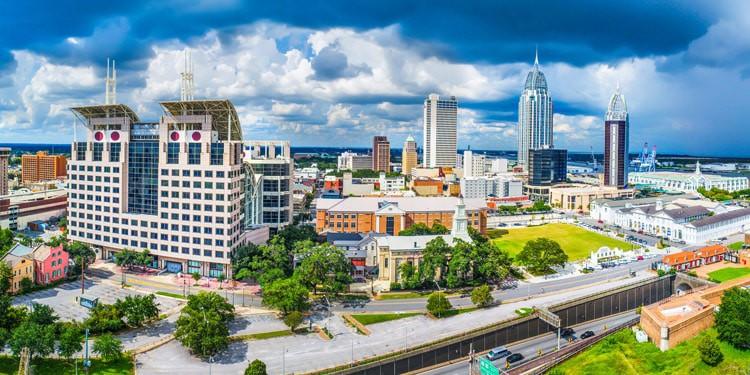 Costo de vida en Mobile Alabama