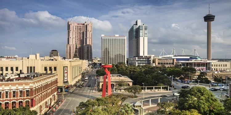 San Antonio Texas buena ciudad