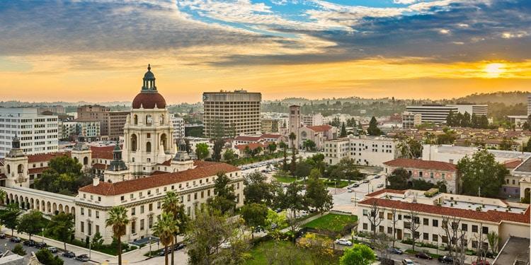 Clima de Pasadena CA