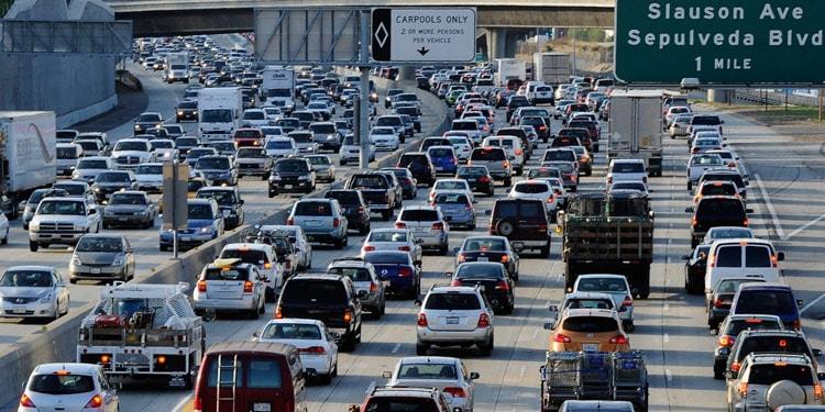 Tráfico y transporte en Long Beach, California