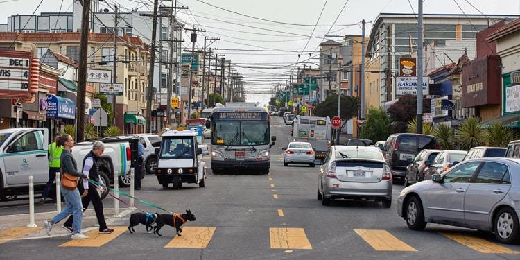 Trafico y transporte en Richmond, CA