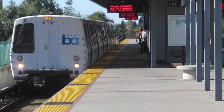 fremont transporte publico bart california