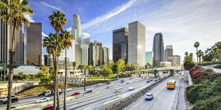 trafico Anaheim california