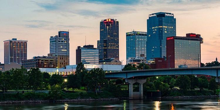 Costo de vida en Arkansas Little Rock
