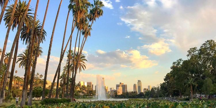 Echo Park Los Angeles California