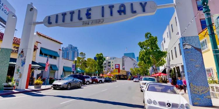 Little Italy San Diego California