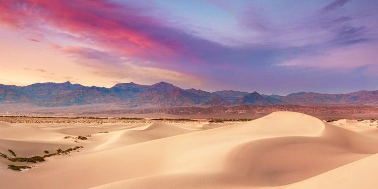 Parque Nacional Death Valley California