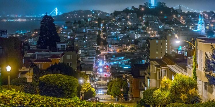 Russial Hill San Francisco California
