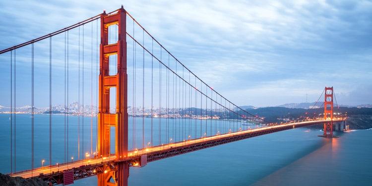 San Francisco y el puente Golden Gate