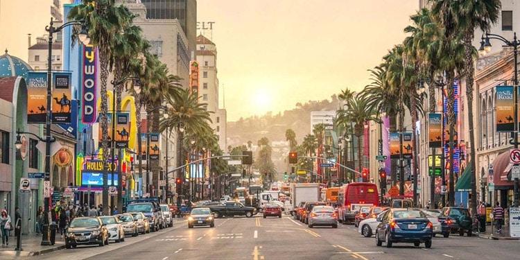 Tener un auto en Los Angeles