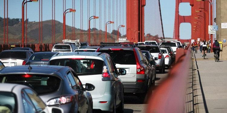 Tener un auto en San Francisco California