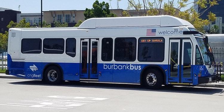 Trafico y transporte en Burbank California