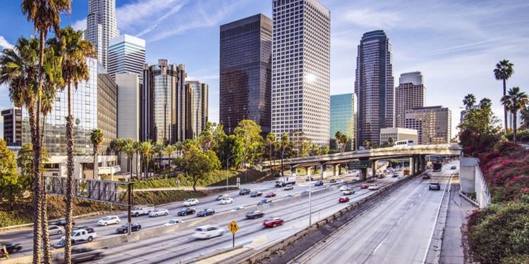 Trafico y transporte en California