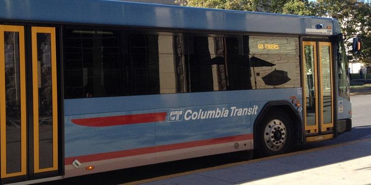 Trafico y transporte en Columbia Missouri