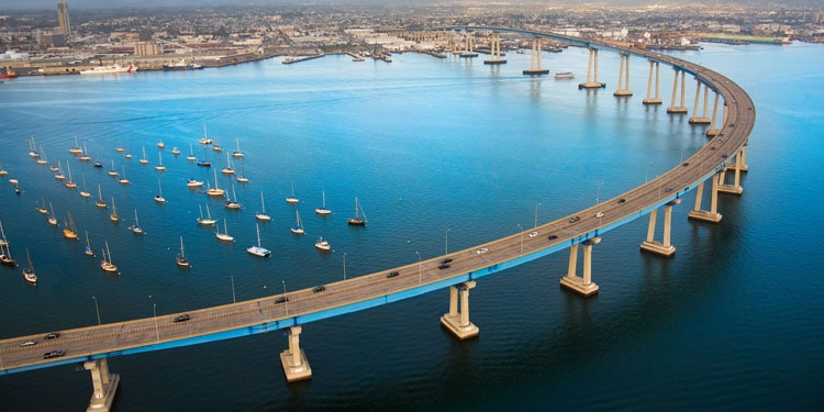 Trafico y transporte en San Diego