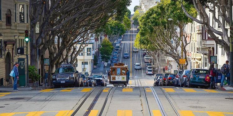 Trafico y transporte en San Francisco