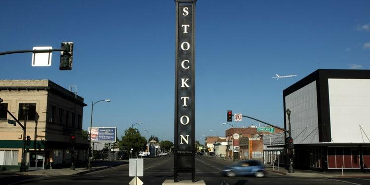 Trafico y transporte en Stockton