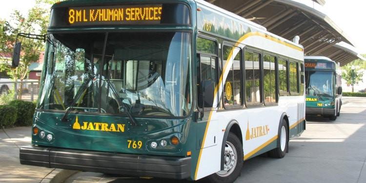 Trafico y transporte publico en Jackson