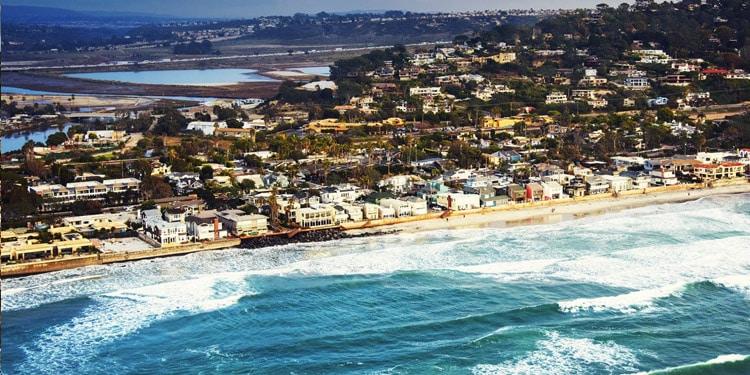 del mar vivir en San Diego California