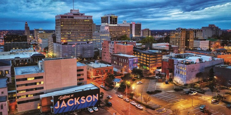 vivir en Jackson Mississippi