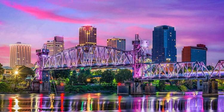 vivir en Little Rock Arkansas