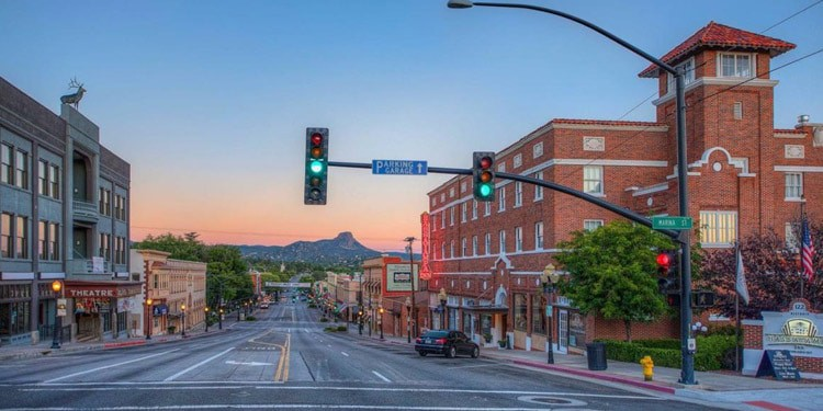 vivir en Prescott Arizona