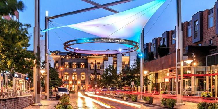 Cherry Creek mejores lugares para vivir en Denver Colorado