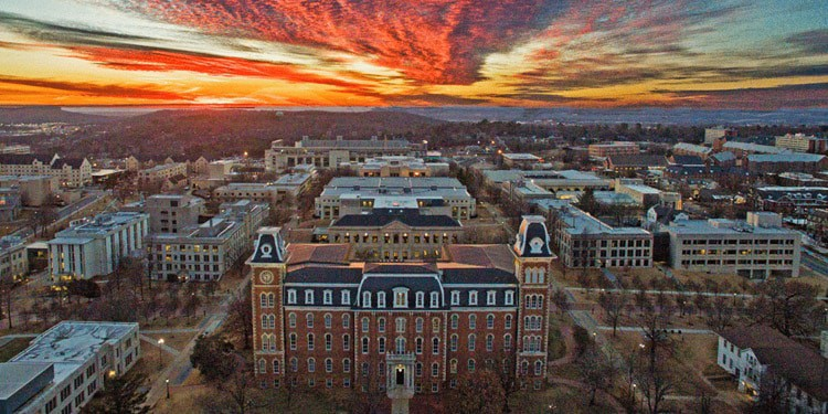 Fayetteville mejores ciudades donde vivir en Arkansas