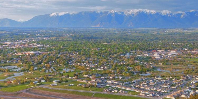 Kalispell ciudades mas economicas Montana
