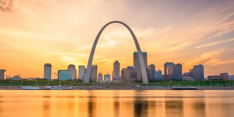 Mejores ciudades donde vivir en Missouri