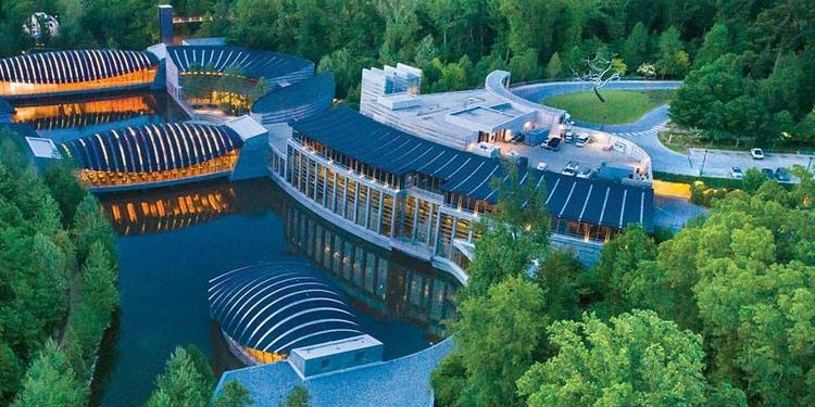 Museo Crystal Bridges Arkansas