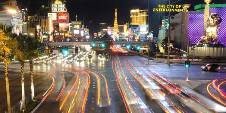 Trafico y transporte en Las Vegas