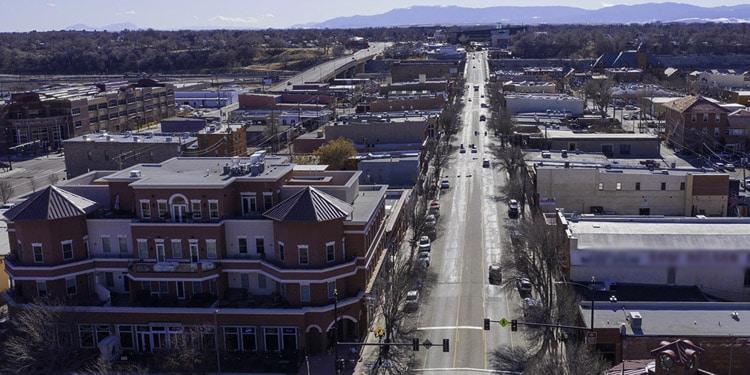 Trafico y transporte en Pueblo Colorado