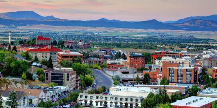 ciudades para vivir en Montana